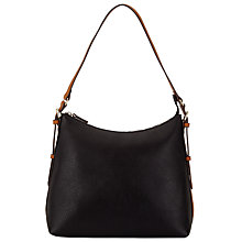 Buy John Lewis Becky Shoulder Bag, Black / Tan Online at johnlewis.com