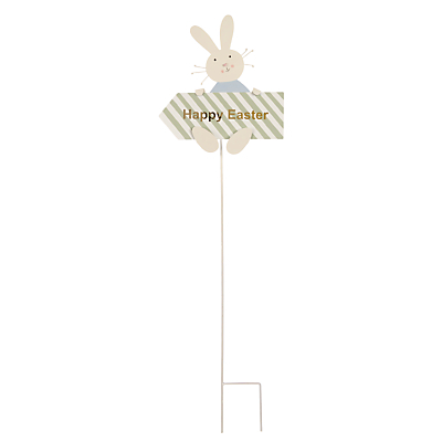 John Lewis 'Happy Easter' Pick Sign, Large
