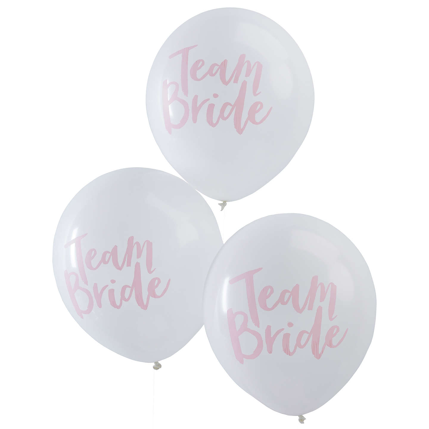 Ginger Ray Hen Party Team Bride Balloons, Pack of 10 at John Lewis