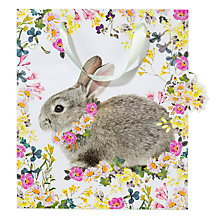 Buy Talking Tables Truly Bunny Gift Bag, Medium Online at johnlewis.com