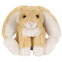 Buy Jellycat Bashful Bunny Soft Toy, Brown Online at johnlewis.com