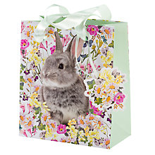 Buy Talking Tables Truly Bunny Gift Bag, Small Online at johnlewis.com