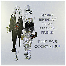 Buy Five Dollar Shake Happy Birthday Friend Greeting Card Online at johnlewis.com