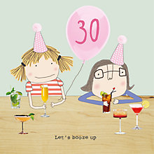 Buy Rosie Made A Thing 30th Birthday Card Online at johnlewis.com