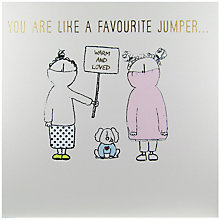 Buy Susan O'Hanlon Jumpers Greeting Card Online at johnlewis.com