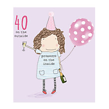 Buy Rosie Made A Thing 40th Birthday Card Online at johnlewis.com
