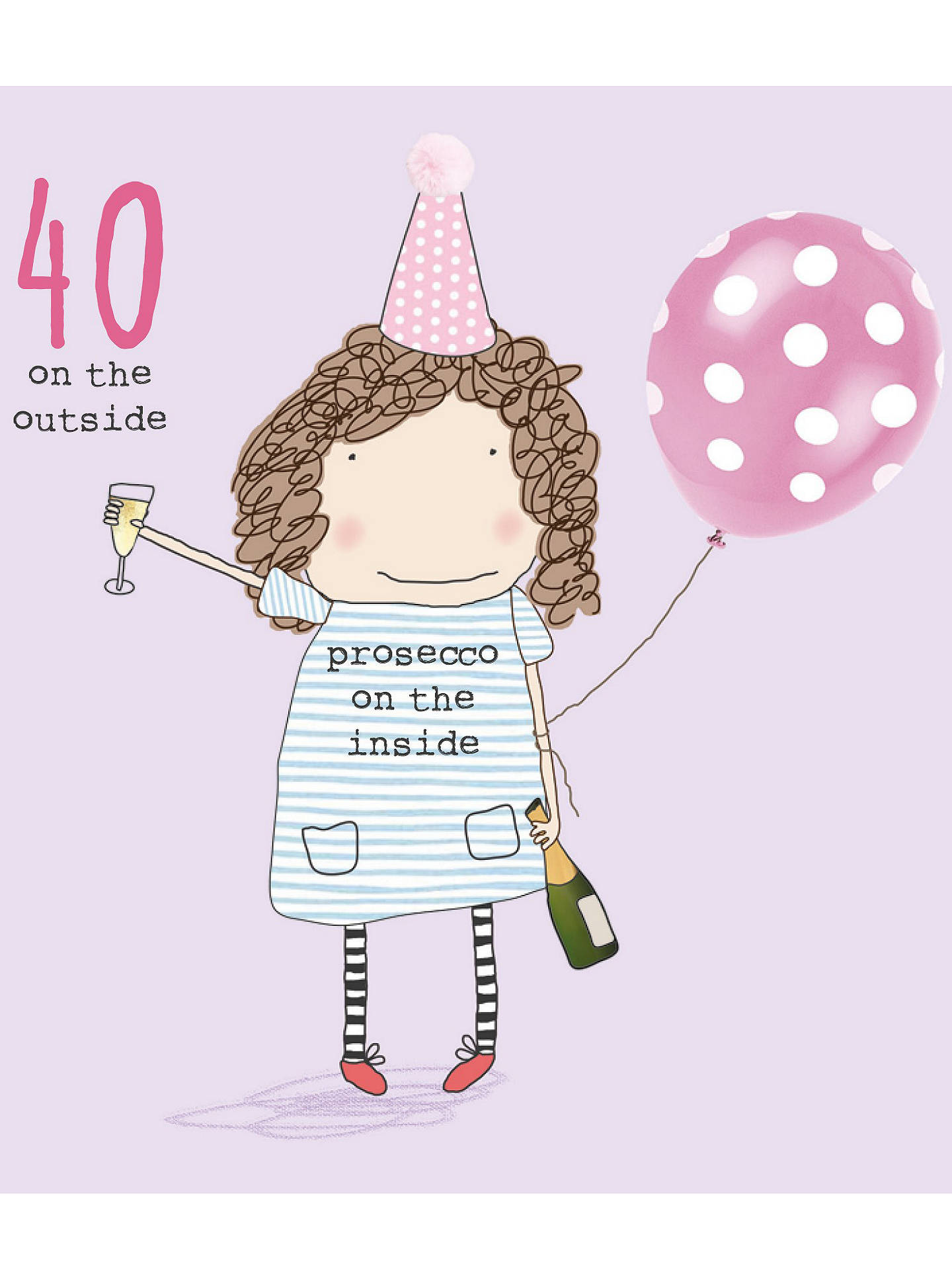 BuyRosie Made A Thing 40th Birthday Card Online At Johnlewis