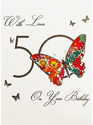 Five Dollar Shake With Love On You 50th Birthday Card