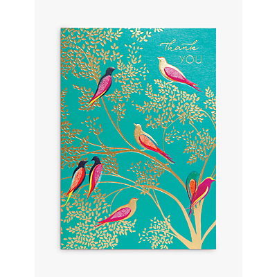 Image of Sara Miller Bird Thank You Card