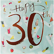 Buy Cardmix 30th Birthday Card Online at johnlewis.com