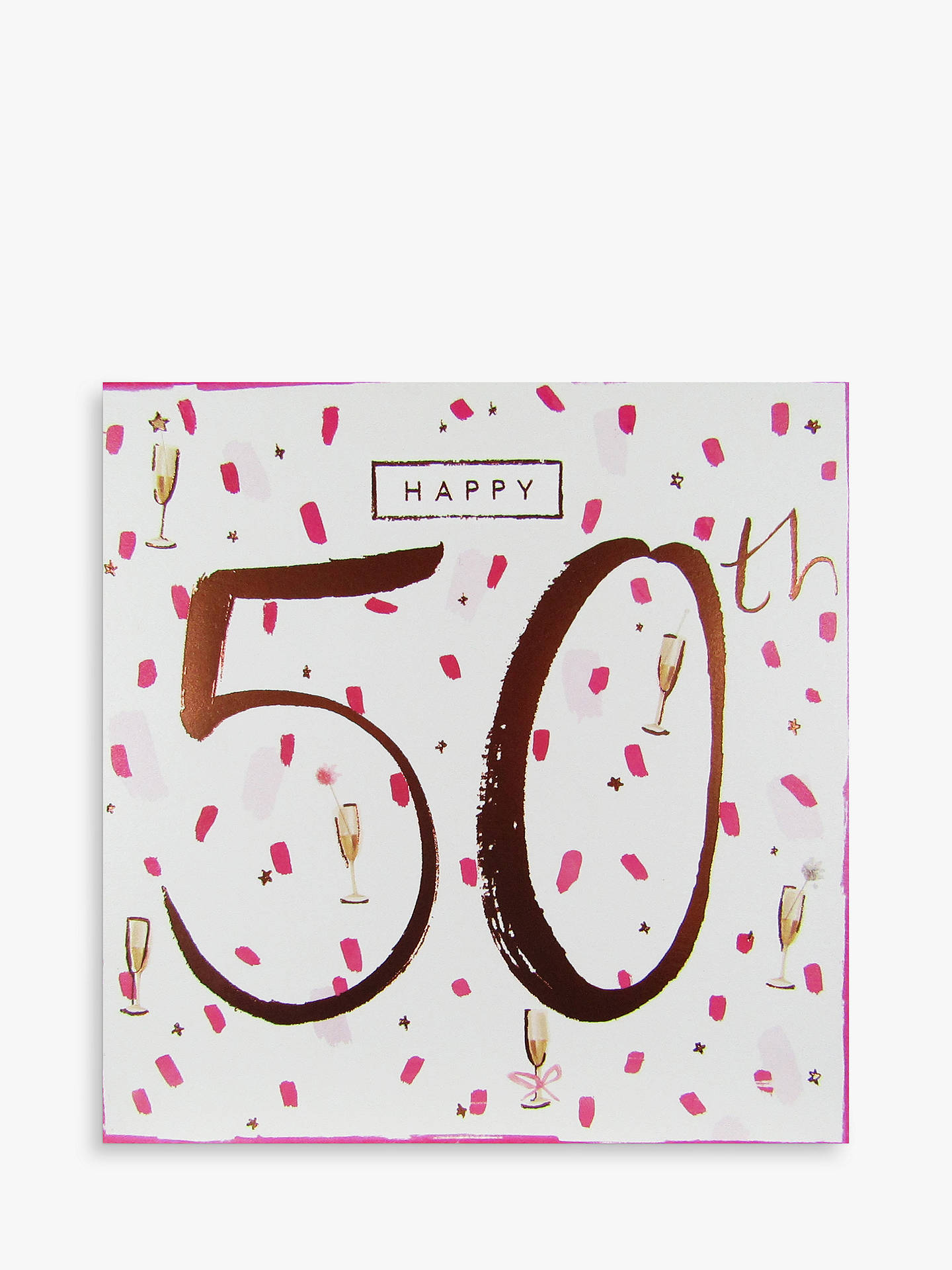 Buy Cardmix 50th Birthday Card Online At Johnlewis