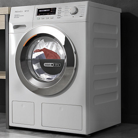 buy miele wth120wpm washer dryer 7kg wash 4kg dry load a. Black Bedroom Furniture Sets. Home Design Ideas