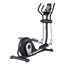 Buy ProForm 450 Folding Elliptical Cross Trainer, Grey/Black Online at johnlewis.com