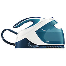 Buy Philips GC8715/20 PerfectCare Performer Steam Generator Iron, Blue Online at johnlewis.com