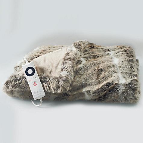 Buy Dreamland 16340 Faux Fur Throw Heated Electric Blanket