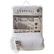Buy Dreamland Sleepwell Heated Duvet, Single Online at johnlewis.com