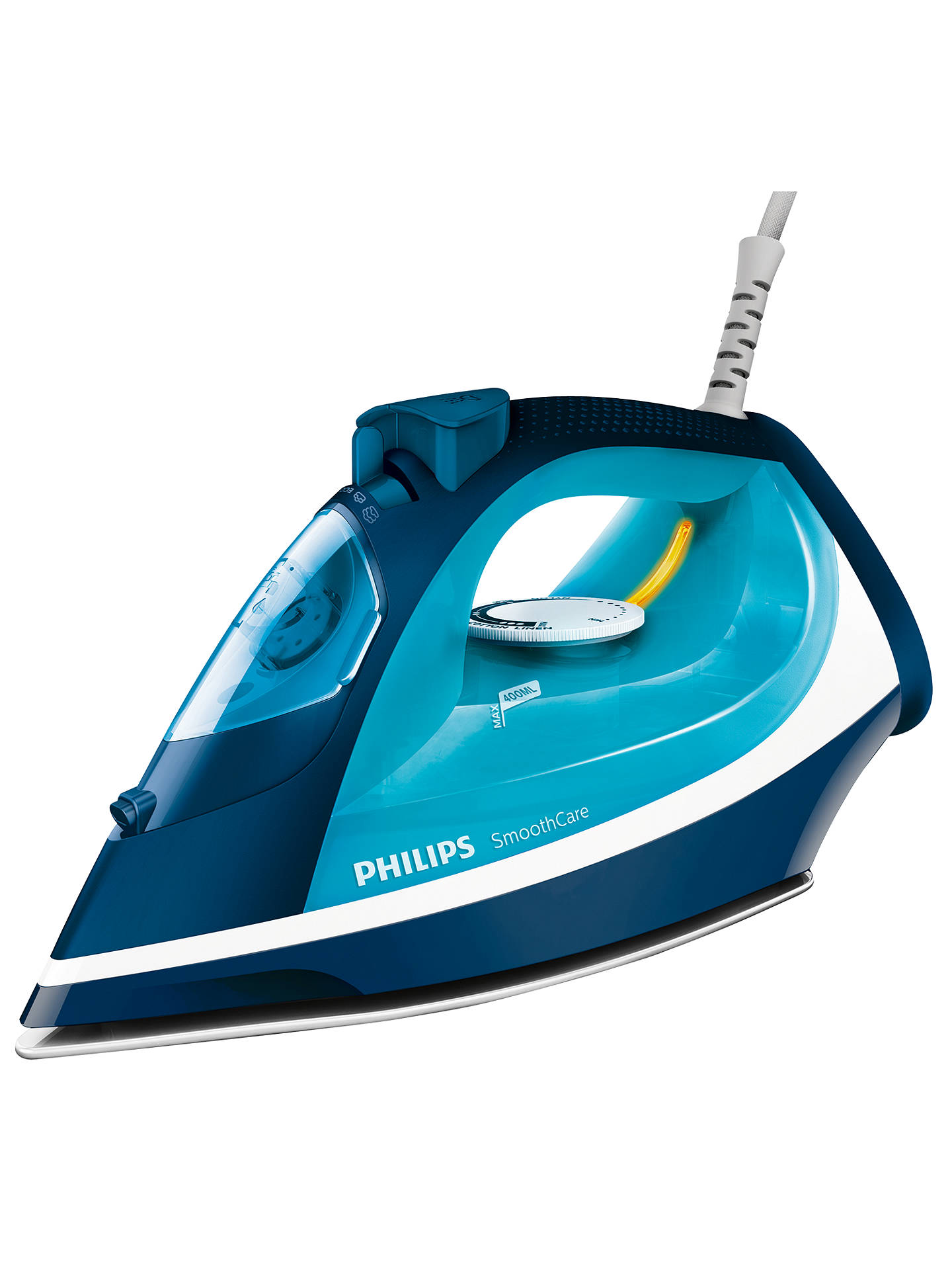 philips gc3583 20 steam iron blue at john lewis partners. Black Bedroom Furniture Sets. Home Design Ideas