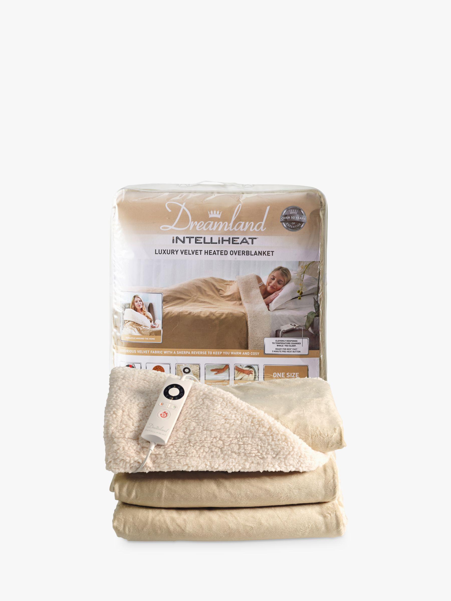 Dreamland Dreamland 16327 Relaxwell Heated Throw Luxury Electric Blanket