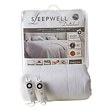Buy Dreamland Sleepwell Dual Control Heated Duvet Online at johnlewis.com