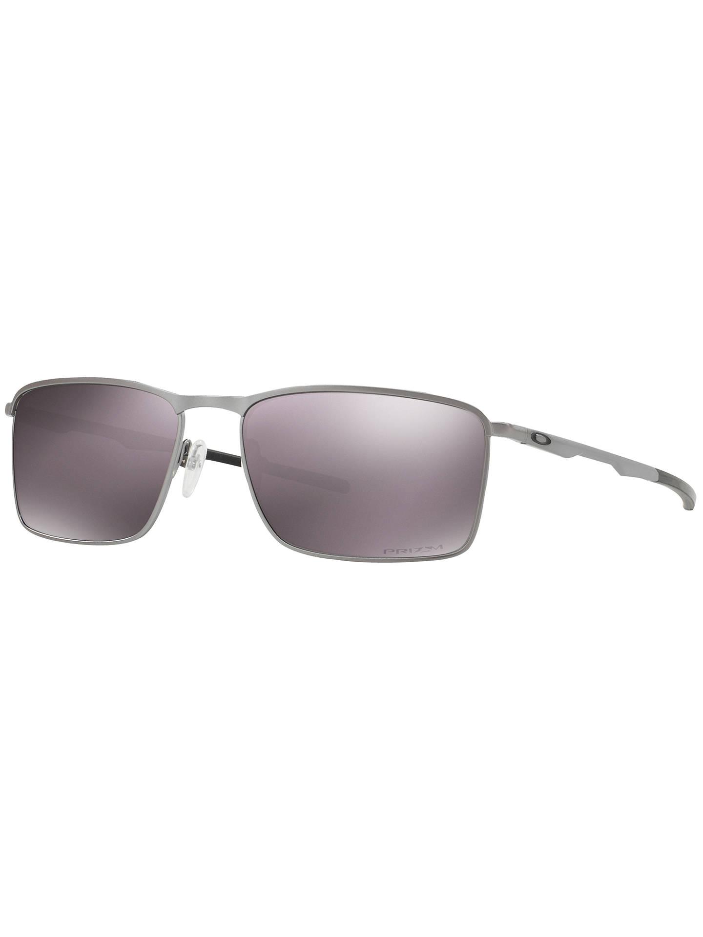 57398b4f3355 Oakley OO4106 Conductor 6 Prizm Polarised Rectangular Sunglasses ...