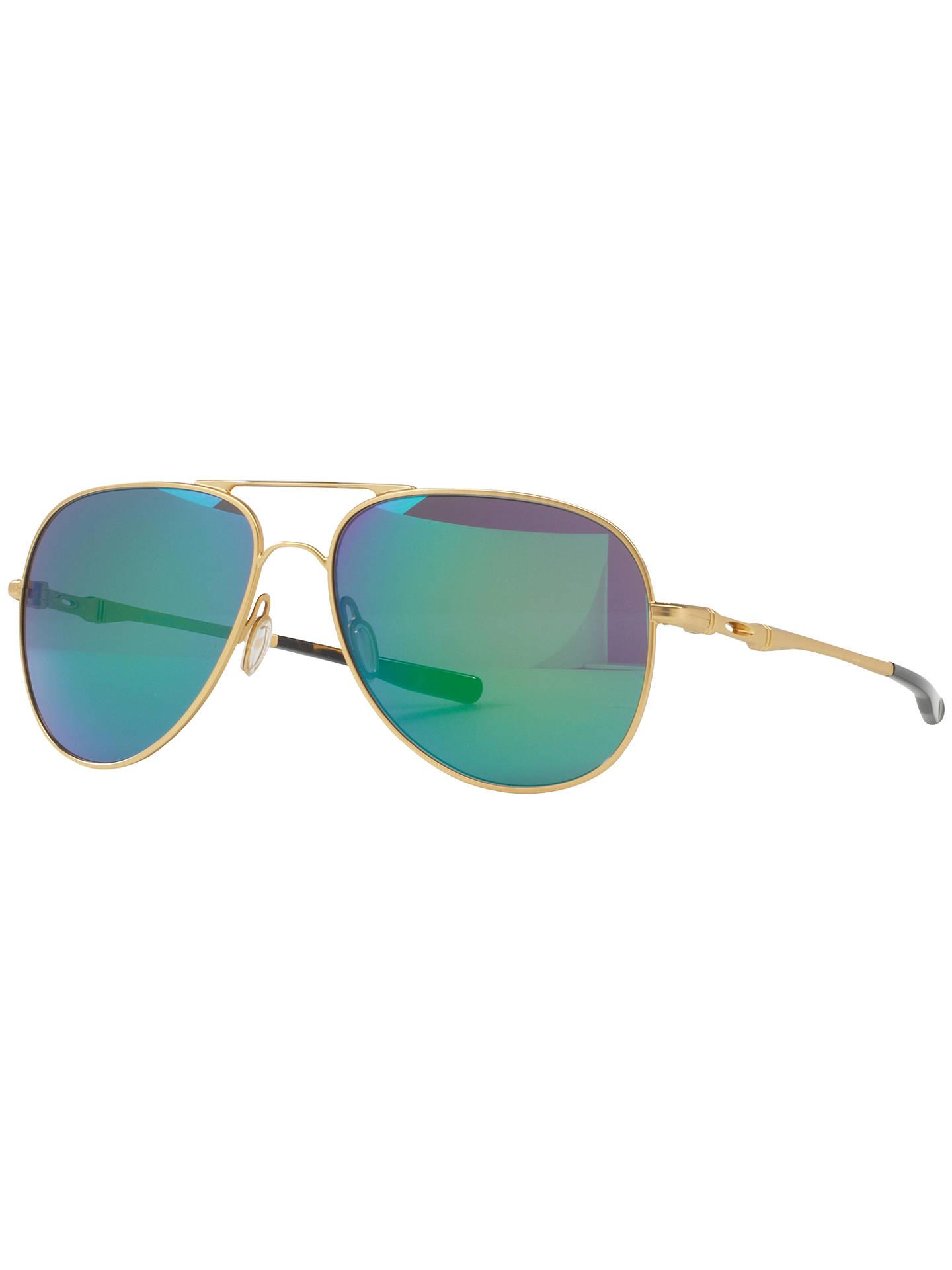 f9b7ed67133 Oakley OO4119 Elmont Medium Aviator Sunglasses at John Lewis   Partners