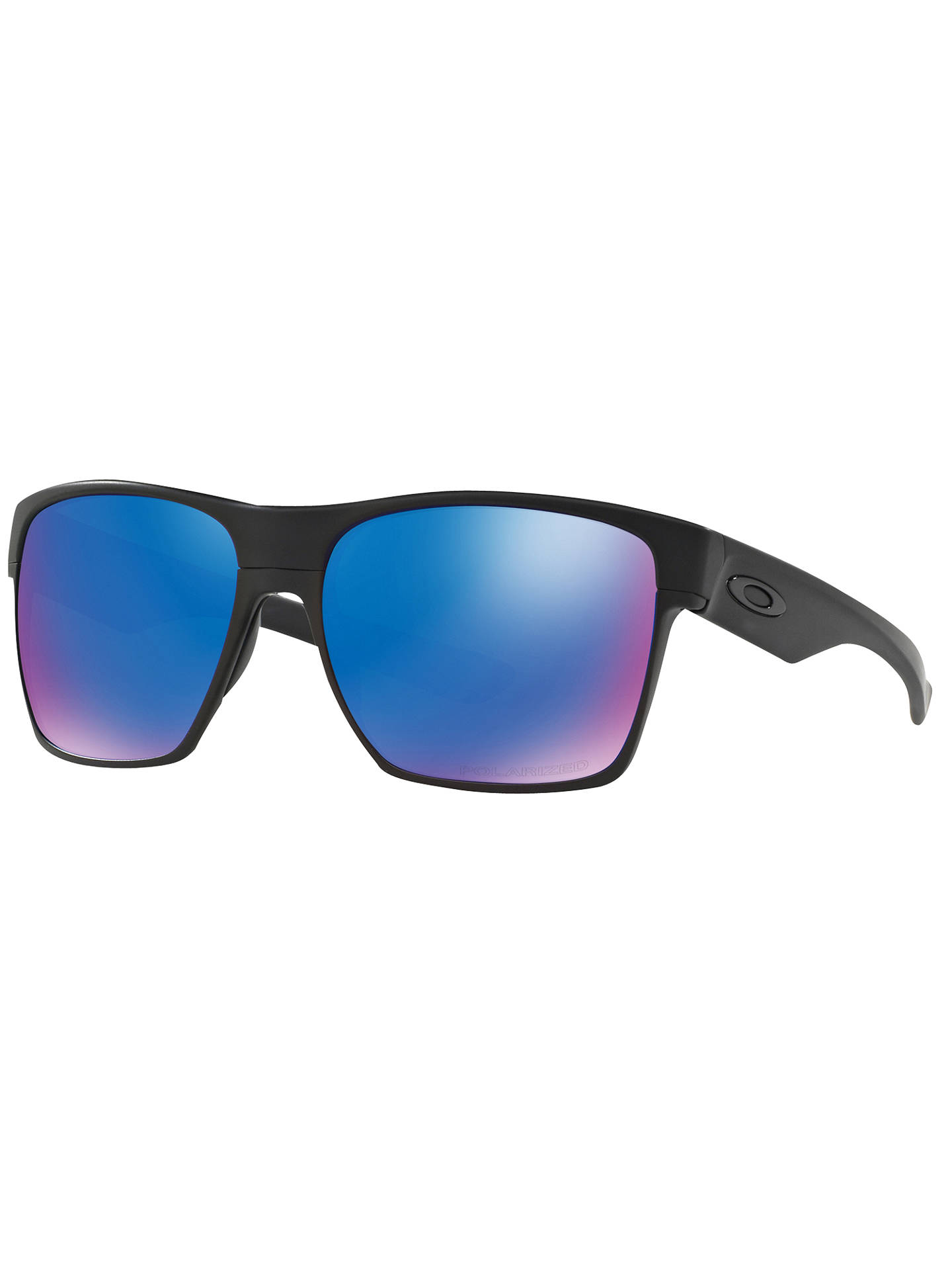 8fbd62a56f Oakley OO9350 Two Face XL Polarised Square Sunglasses at John Lewis ...