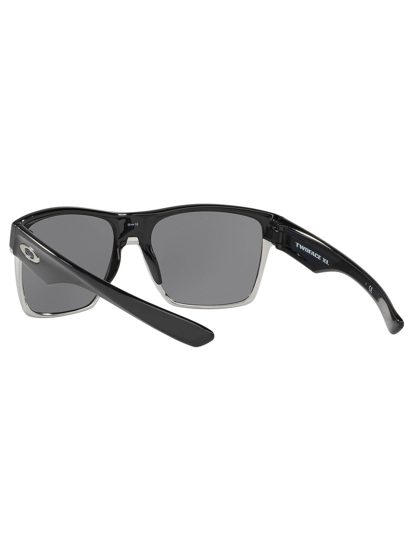 9248ad0a00a Oakley OO9350 Two Face XL Square Sunglasses at John Lewis   Partners