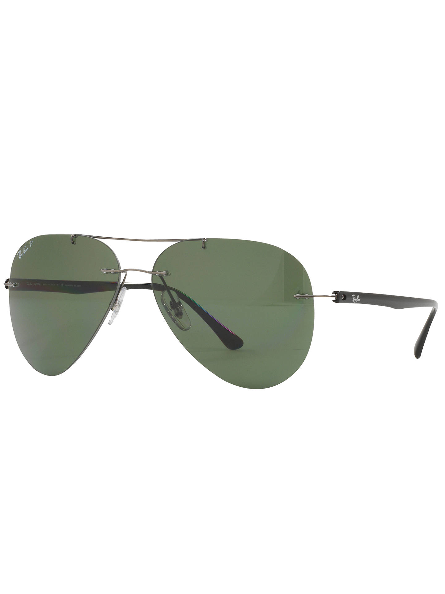 44f3e5206b4 BuyRay-Ban RB8058 Polarised Frameless Aviator Sunglasses