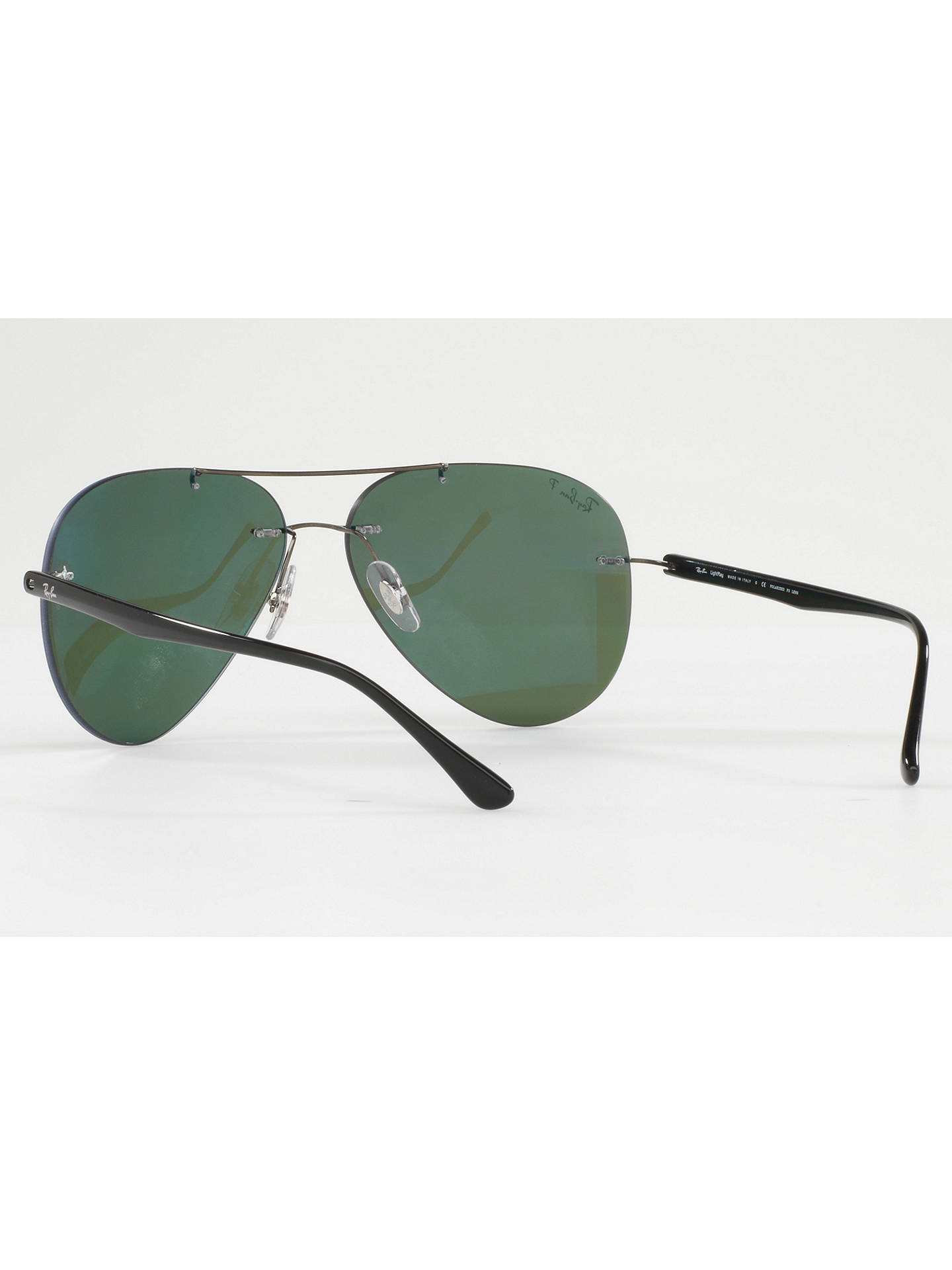 26fe5b0316b ... BuyRay-Ban RB8058 Polarised Frameless Aviator Sunglasses