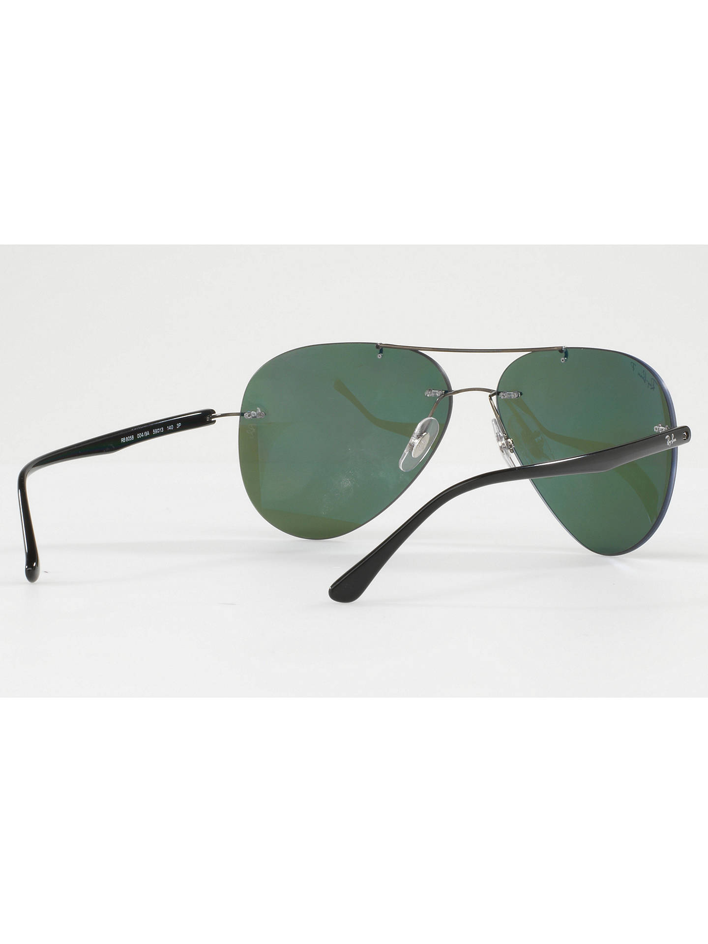 9b9d0b5f1a ... BuyRay-Ban RB8058 Polarised Frameless Aviator Sunglasses