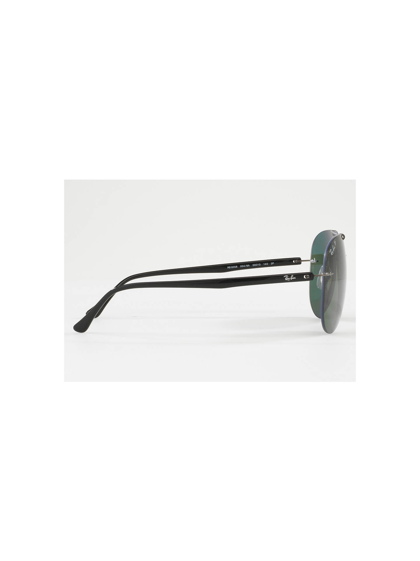 f37bc17b69 ... BuyRay-Ban RB8058 Polarised Frameless Aviator Sunglasses
