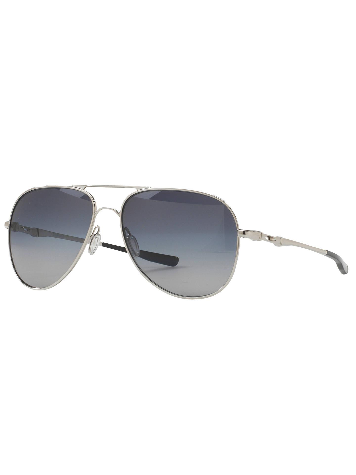 7566a9d33b Oakley OO4119 Elmont Large Polarised Aviator Sunglasses at John ...