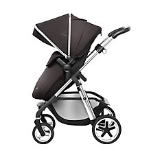 Buy Silver Cross Pioneer Chrome Pushchair and Carrycot with Black Essentials Pack bundle Online at johnlewis.com