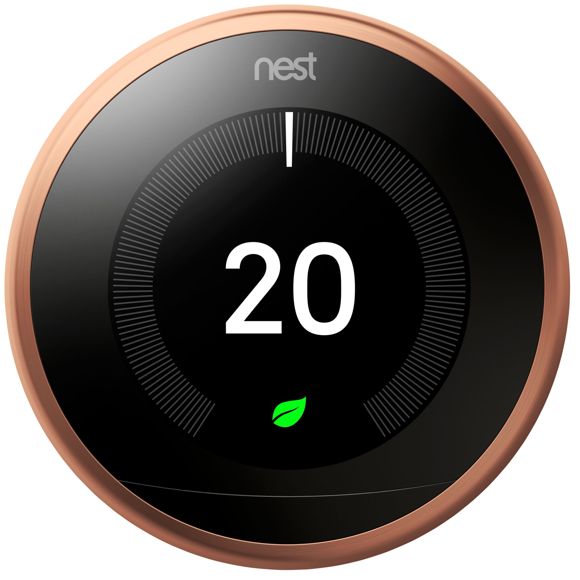 Nest Learning Thermostat 3rd Generation At John Lewis Partners Label The Wires Leading Into Your Old