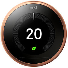 Buy Nest Learning Thermostat, 3rd Generation Online at johnlewis.com