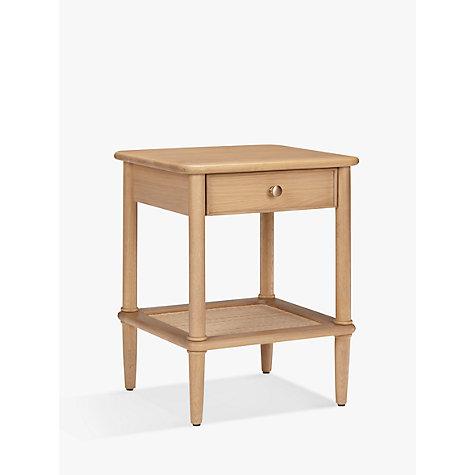 Buy John Lewis Croft Collection Bala 1 Drawer Bedside Table Online At  Johnlewis.com ...