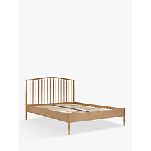 Buy John Lewis Croft Collection Bala Spindle Bed Frame, Double Online at johnlewis.com