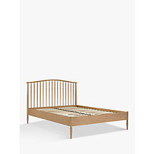Buy John Lewis Croft Collection Bala Spindle Bed Frame, King Size Online at johnlewis.com