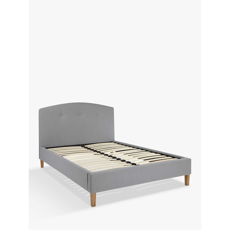 BuyJohn Lewis Grace Bed Frame, Double, Grey Online At Johnlewis.com ...
