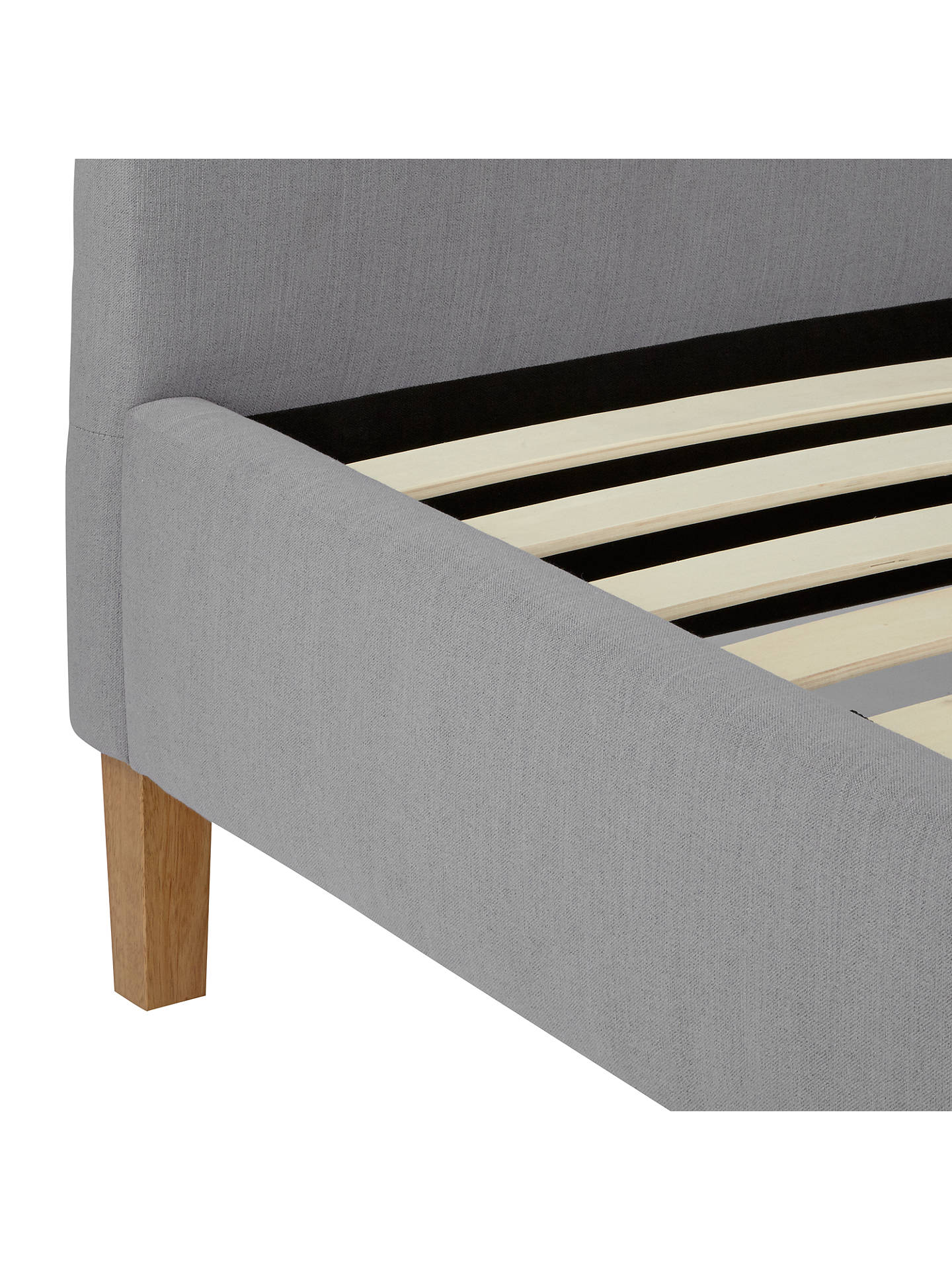 BuyJohn Lewis & Partners Grace Bed Frame, Double, Grey Online at johnlewis.com