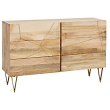Buy Roar + Rabbit for west elm Geo Inlay 6 Drawer Chest Online at johnlewis.com