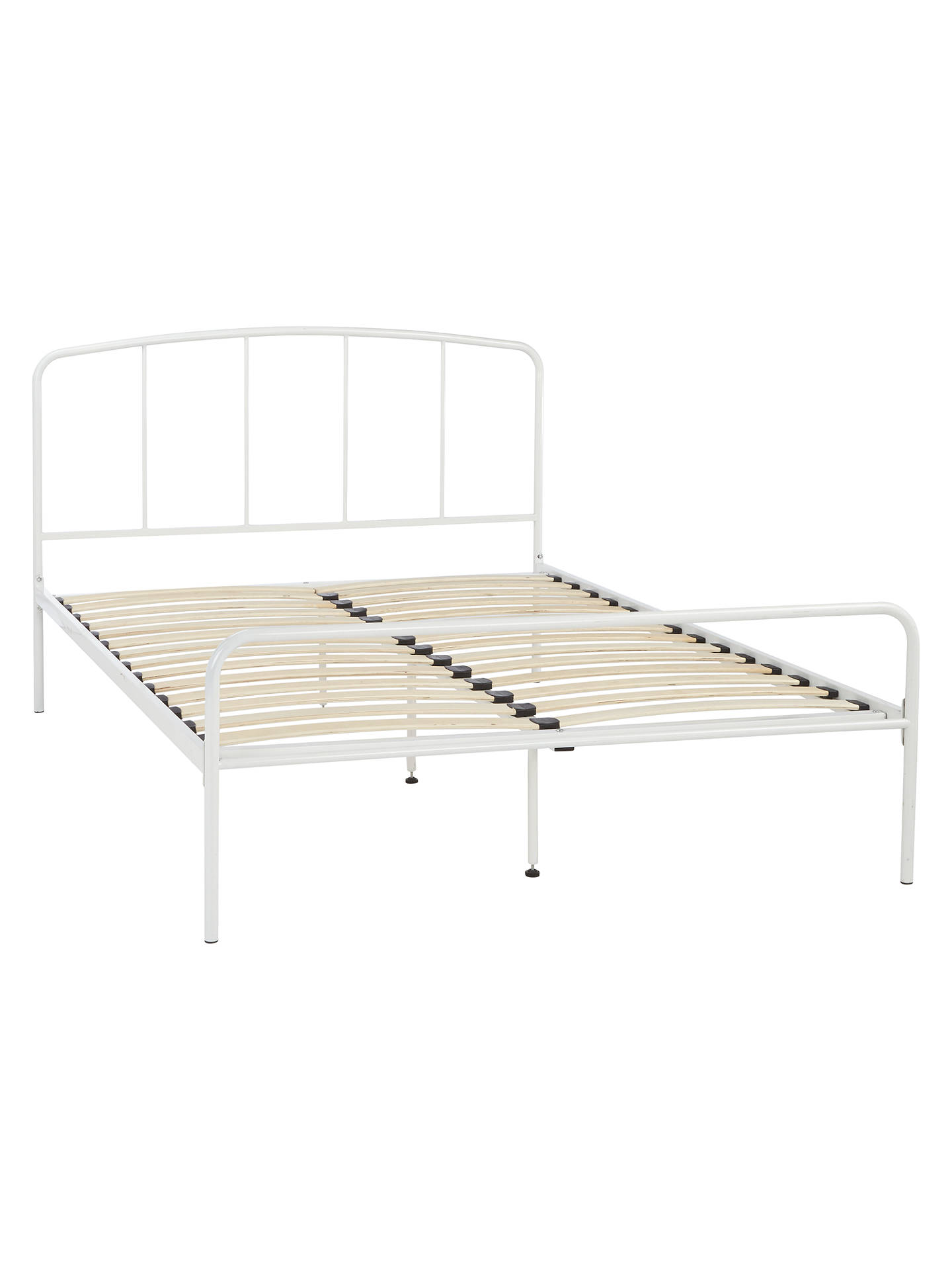John Lewis & Partners The Basics Alpha Bed Frame, Double at John ...