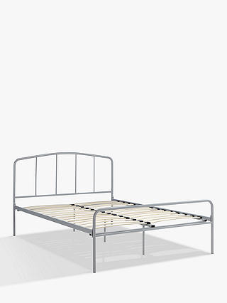 Buy John Lewis & Partners Alpha Bed Frame, Small Double, Grey Online at johnlewis.com