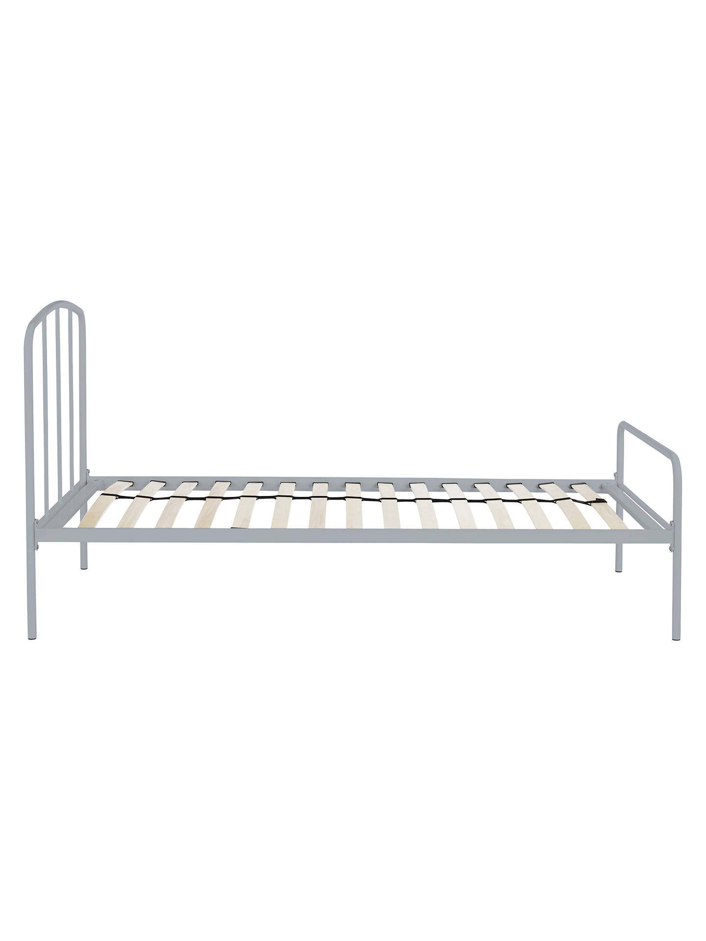 Fantastic Little Home At John Lewis Alpha Metal Bed Frame Single Grey Onthecornerstone Fun Painted Chair Ideas Images Onthecornerstoneorg