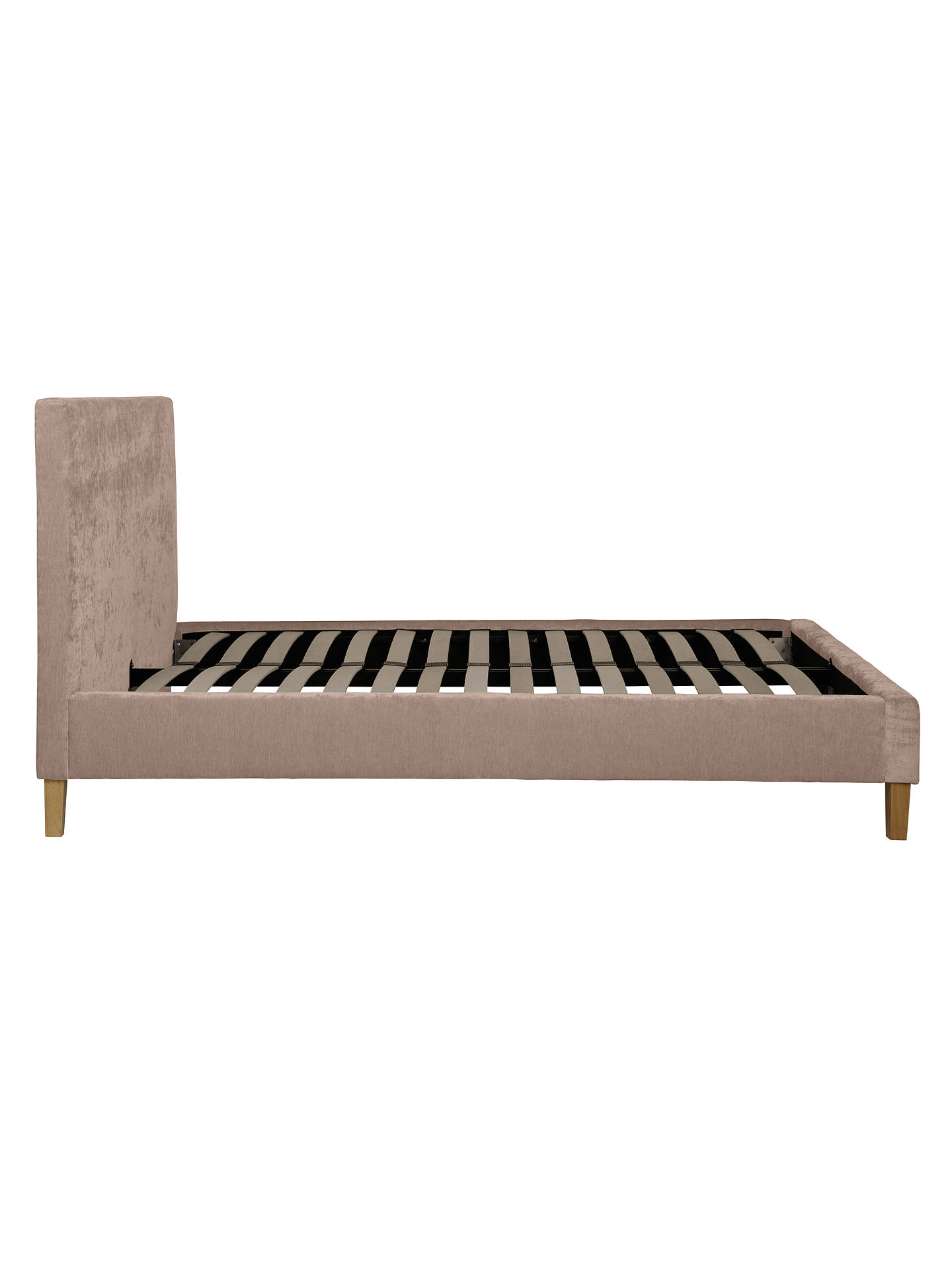 Buy John Lewis & Partners Emily Bed Frame, Small Double, Mink Online at johnlewis.com