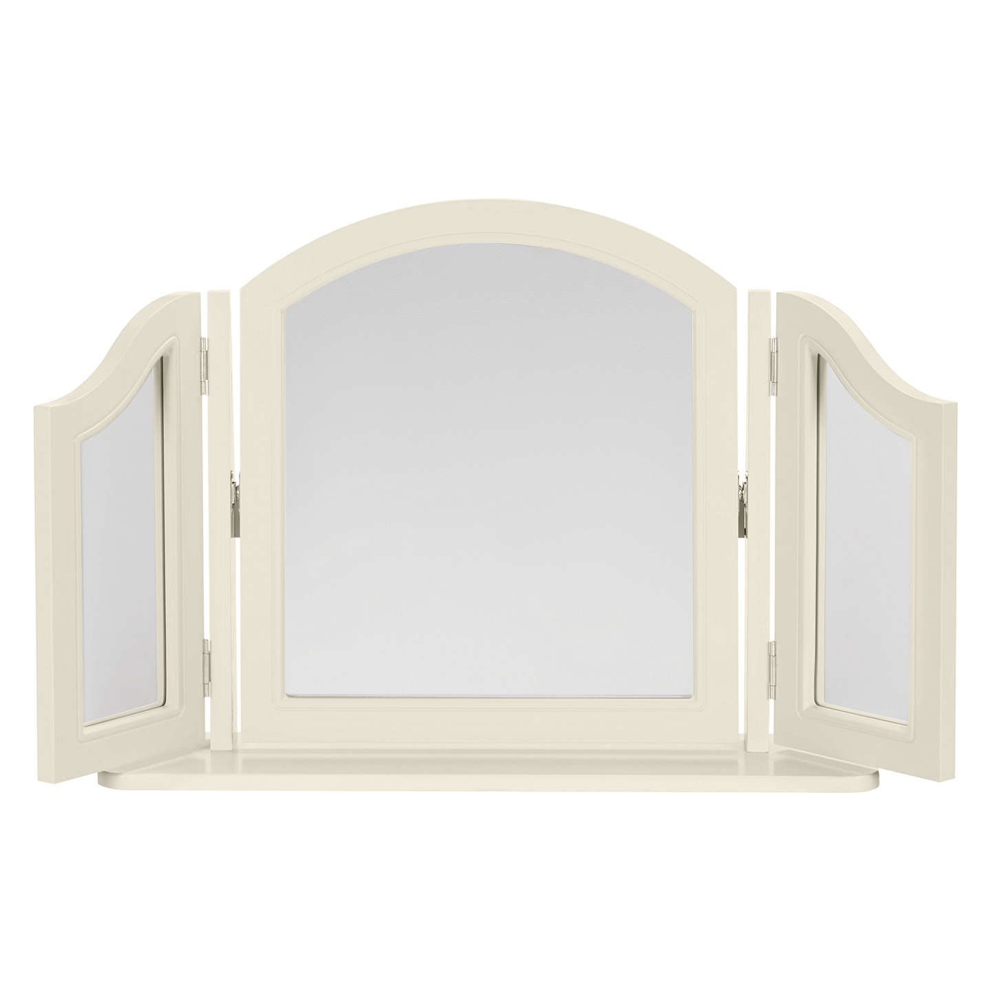 BuyJohn Lewis St Ives Dressing Table and Mirror, Grey Online at johnlewis.com