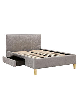 Buy John Lewis & Partners Emily Storage Bed Frame, King Size, Grey Online at johnlewis.com