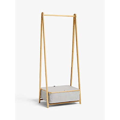 Product photo of John lewis collapsible clothes rail