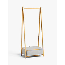 Buy John Lewis Collapsible Clothes Rail Online at johnlewis.com