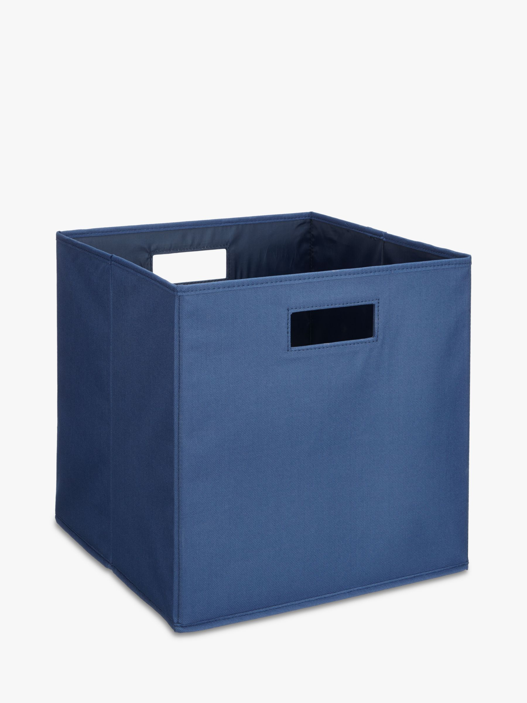 house by john lewis folding storage box large bluewater. Black Bedroom Furniture Sets. Home Design Ideas
